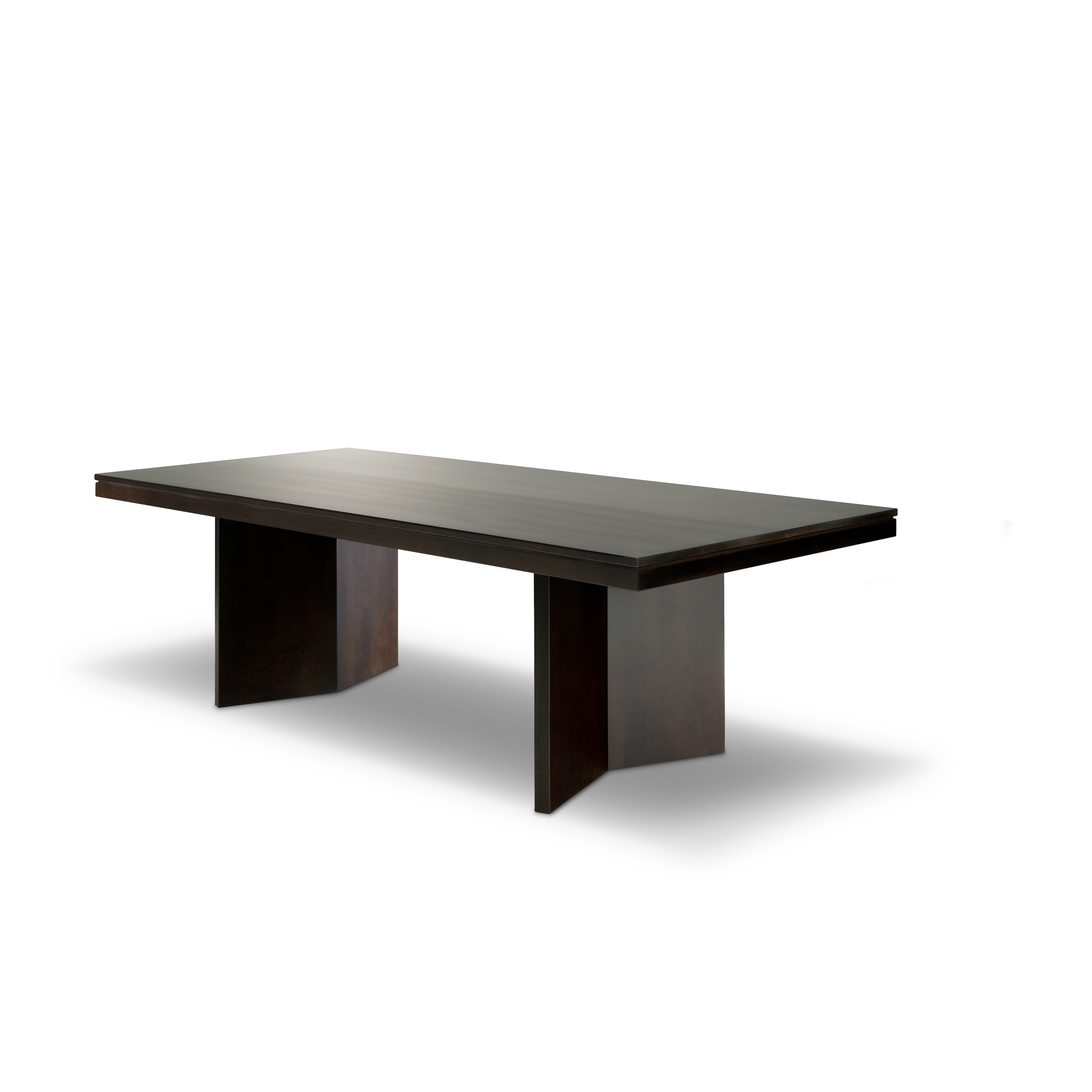 arcadia clean lines dining table