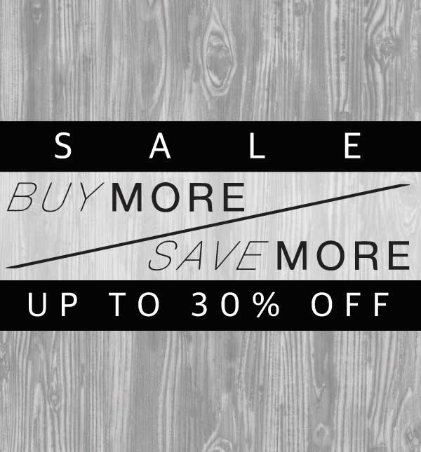 Up to 30% off! Save More Sale