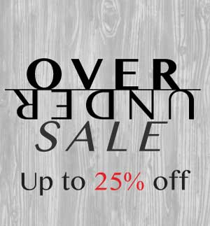 The Over Under Sale is on now