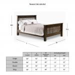 Newport Slat-Style Bed