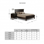 Brent Panel Bed