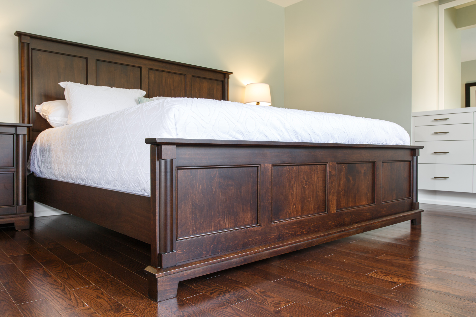 Hampton Bed Woodcraft Solid Wood Furniture Toronto Canada