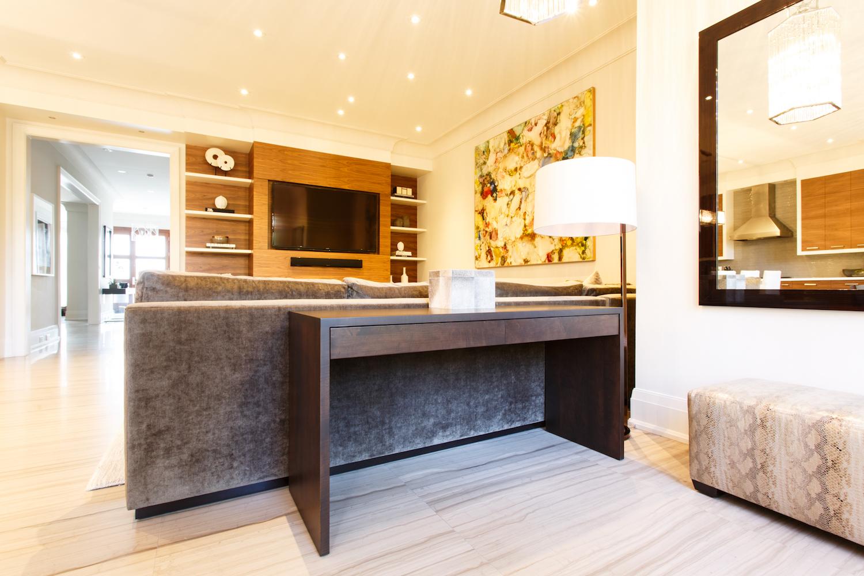 Seamless Sofa Table