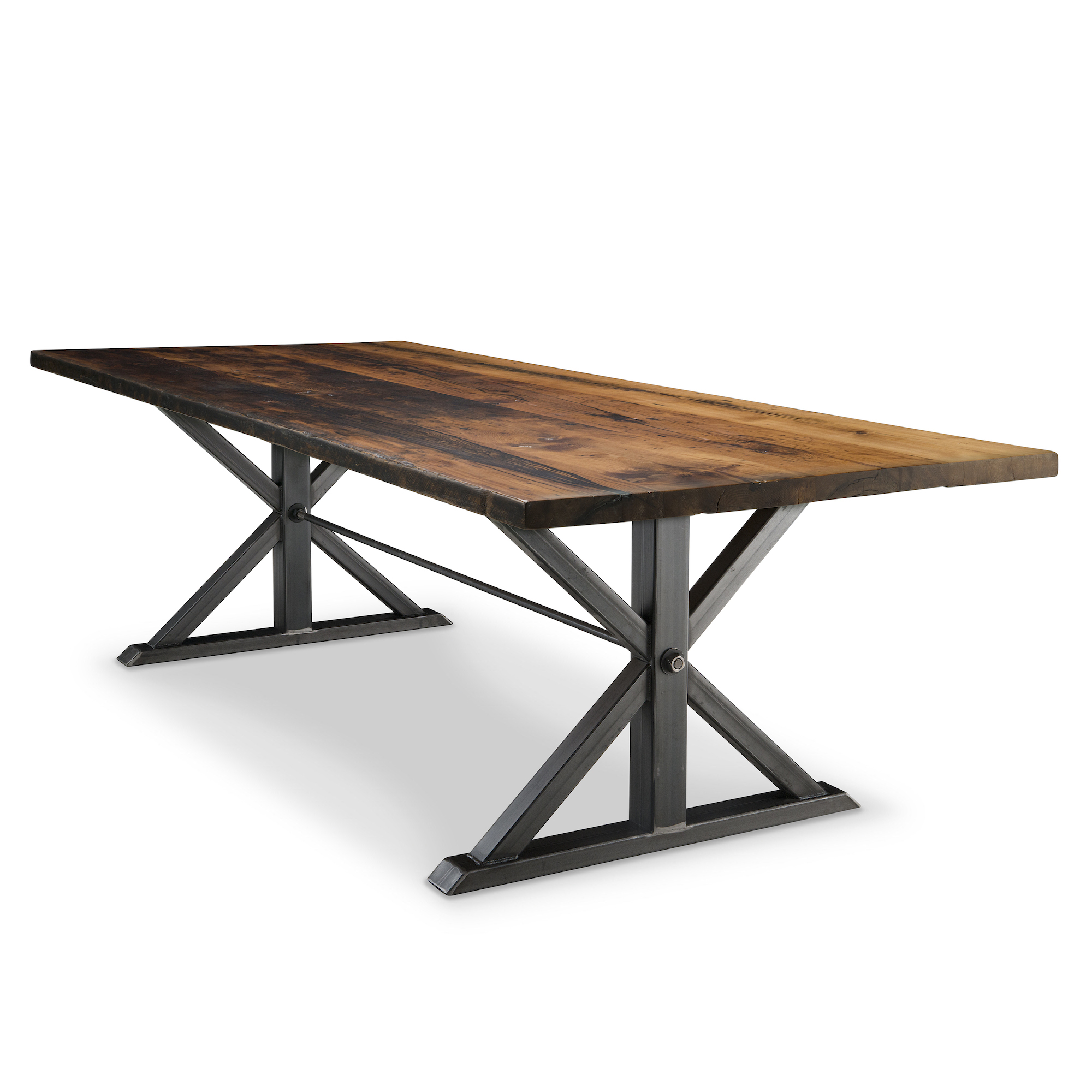 Jackson reclaimed wood dining table