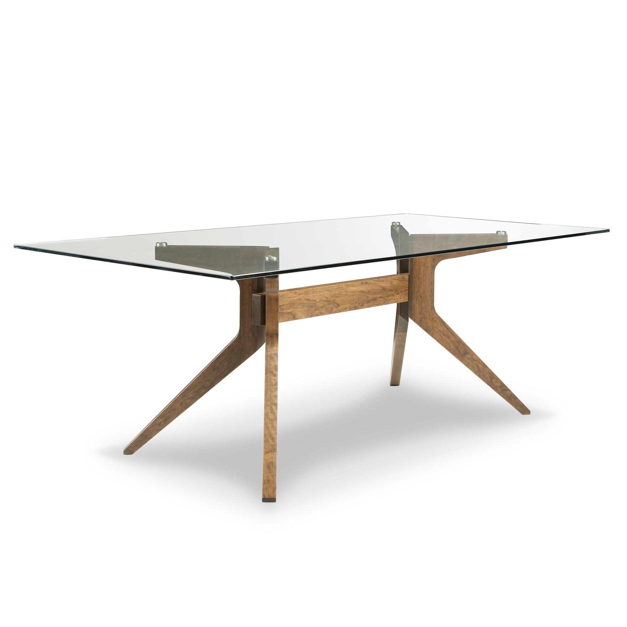 Malmo glass dining table
