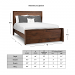 The Waterfall Live Edge Bed