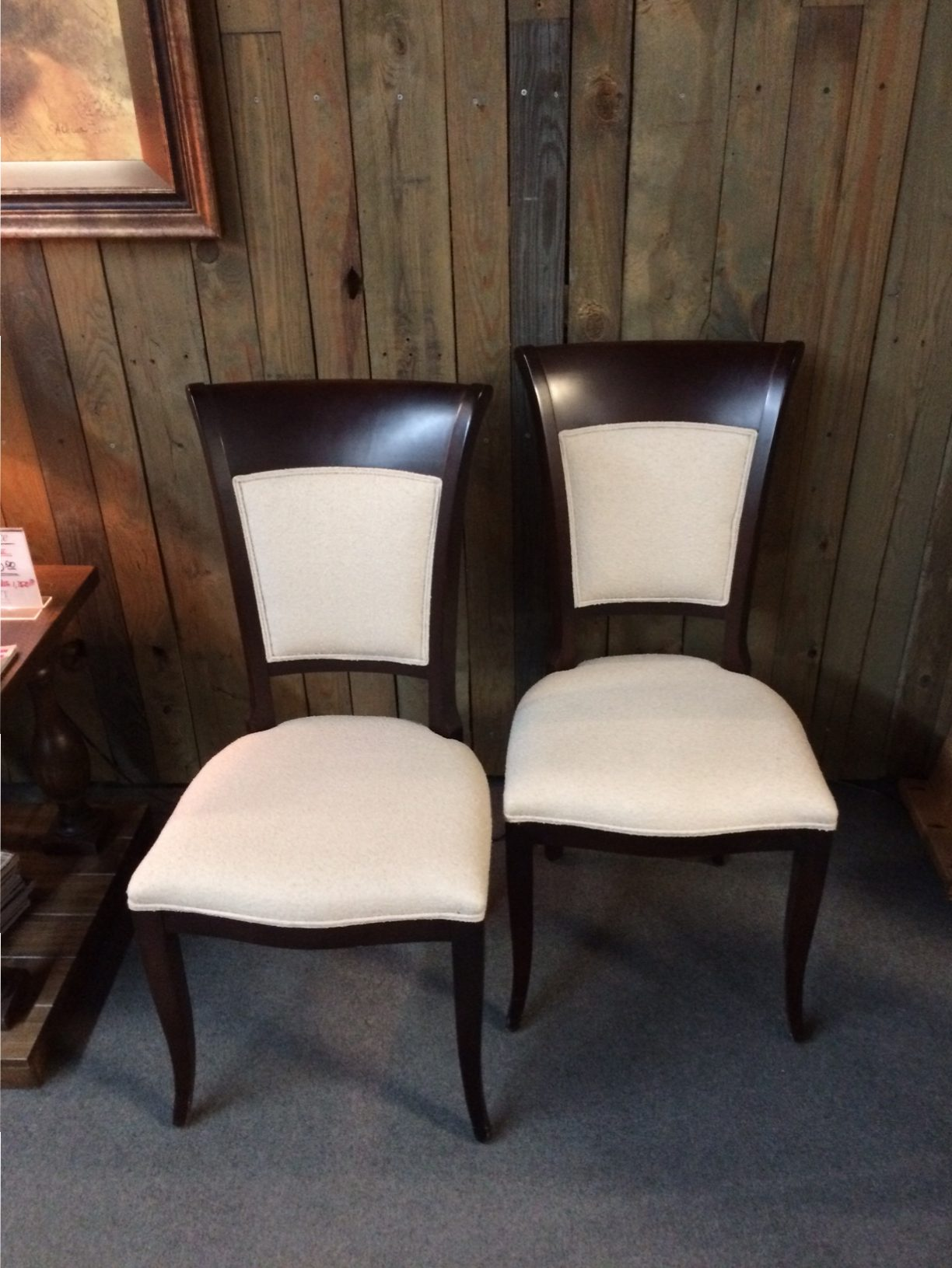 (2) Tiziano Upholstered Dining Chairs