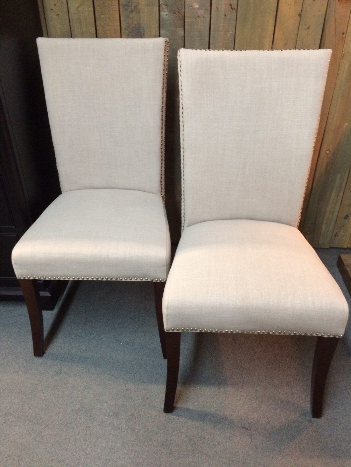 (2) Melissa Upholstered Dining Chairs