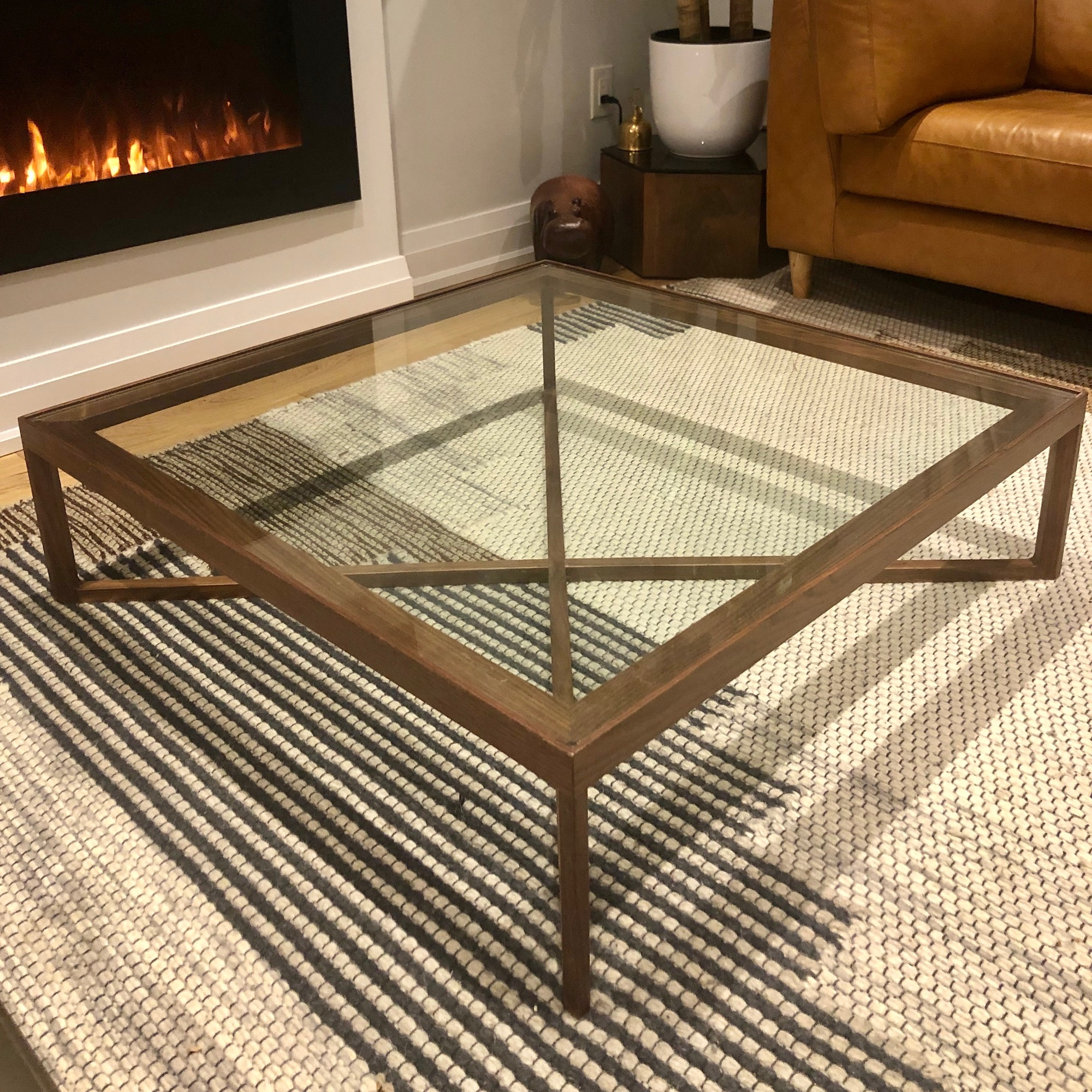 Walnut Floor Model