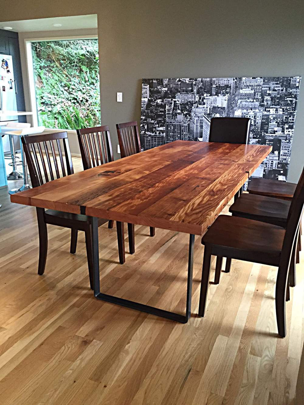 Picture of: Learn More About Woodcraft S Reclaimed Wood Dining Tables