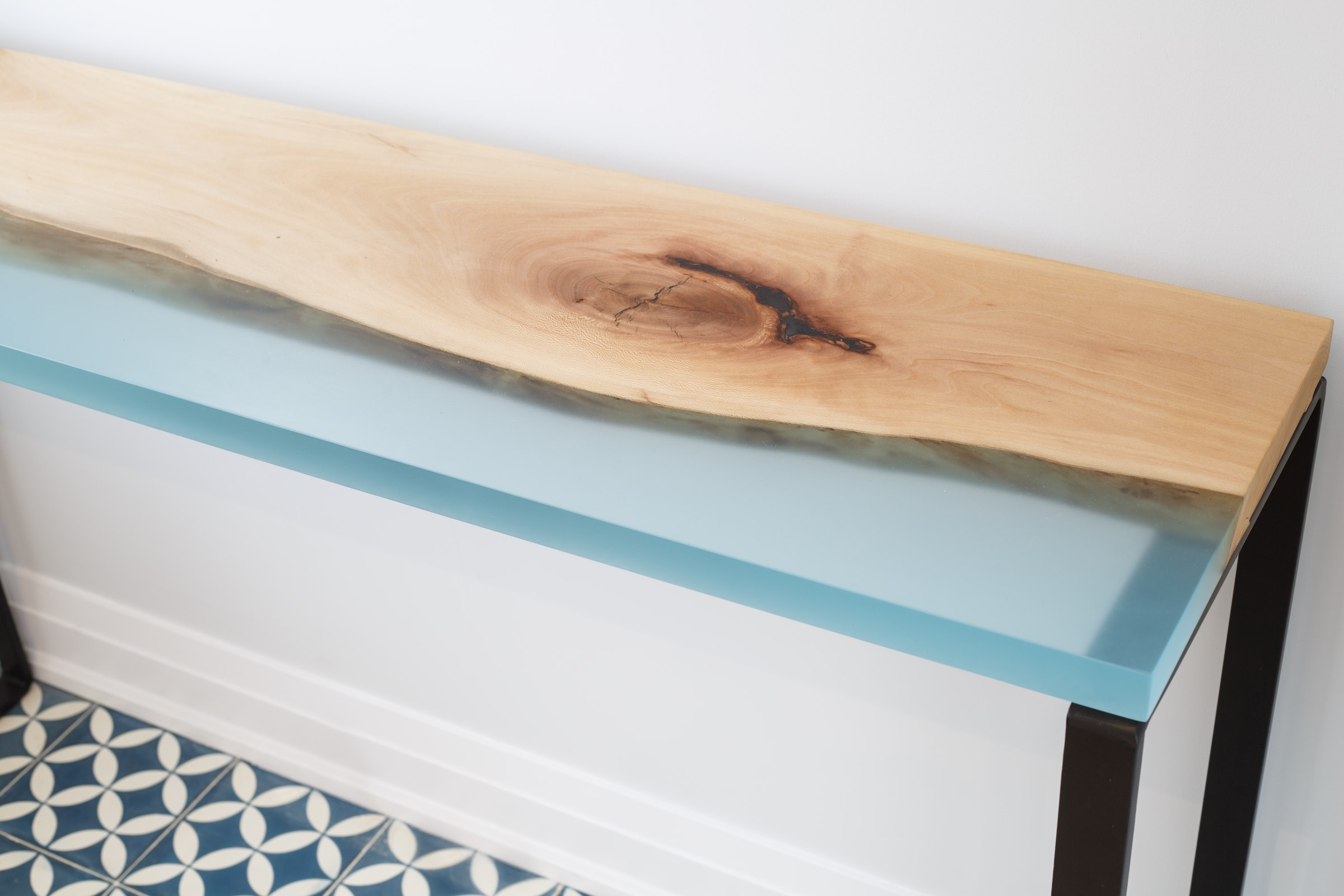 Coastal Sofa Table