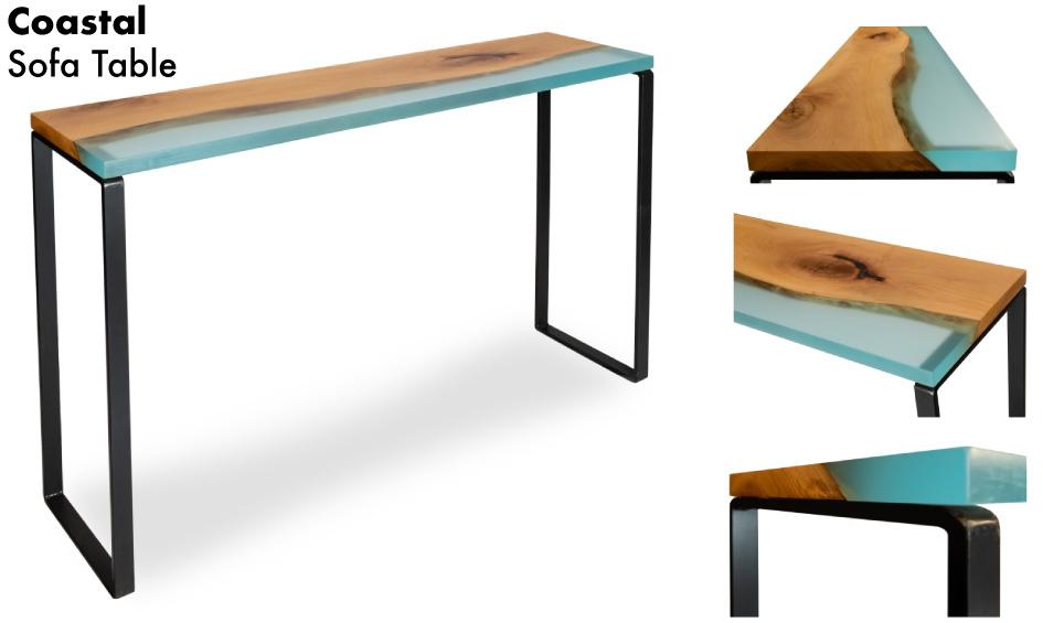 Coastal Sofa Table