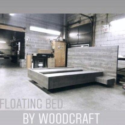 Custom Floating Bed