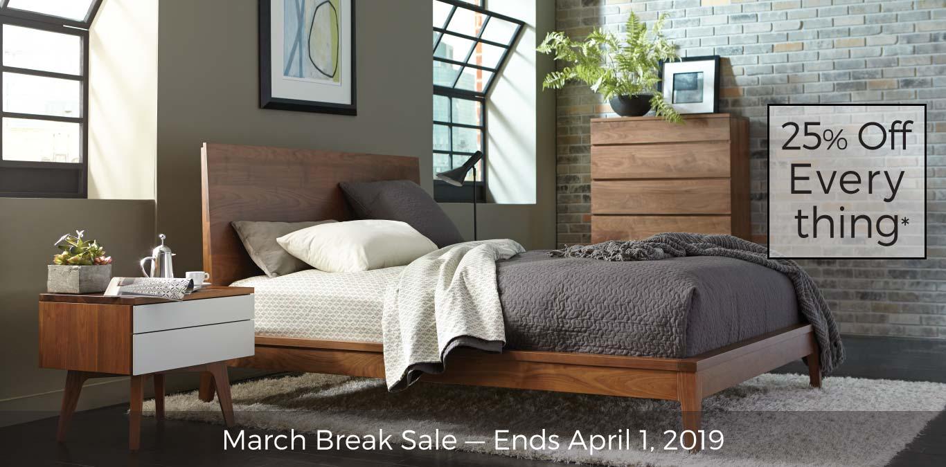March Break Sale - Ends April 1