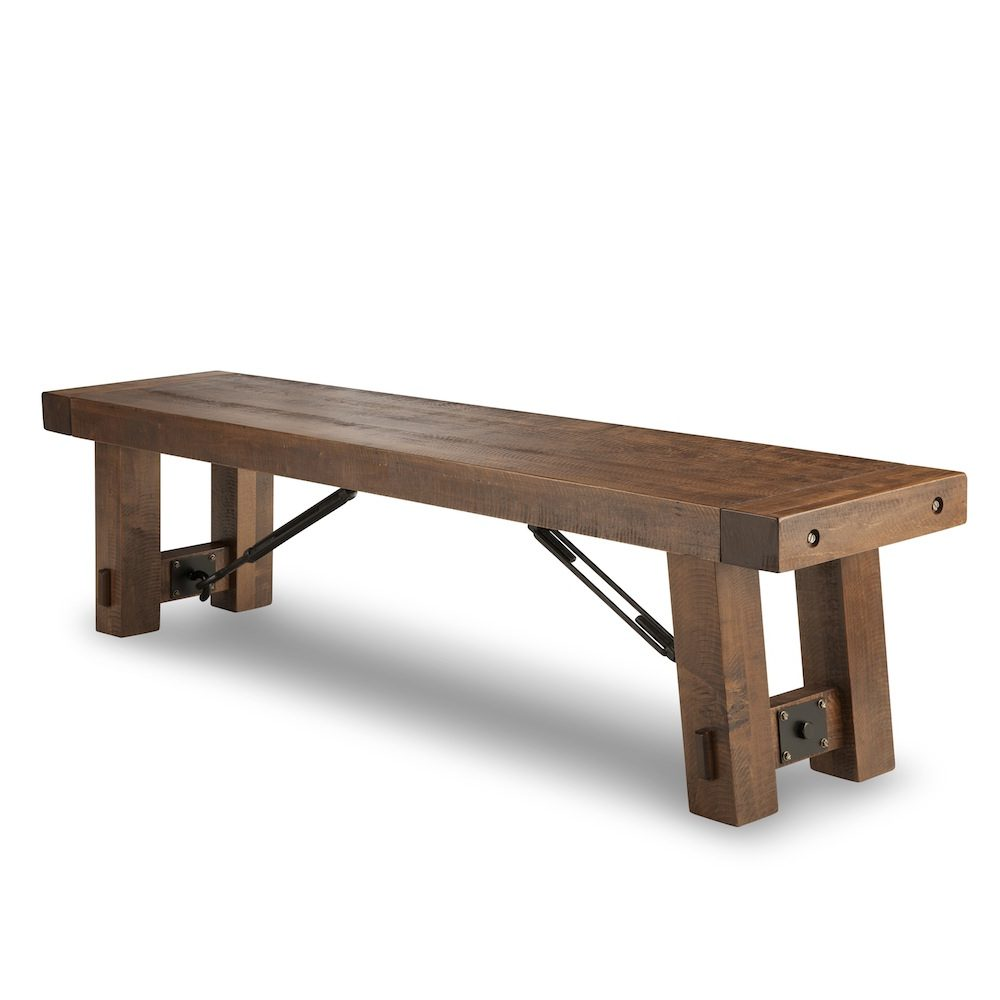 Turnbuckle Bench Solid Wood Furniture Woodcraft