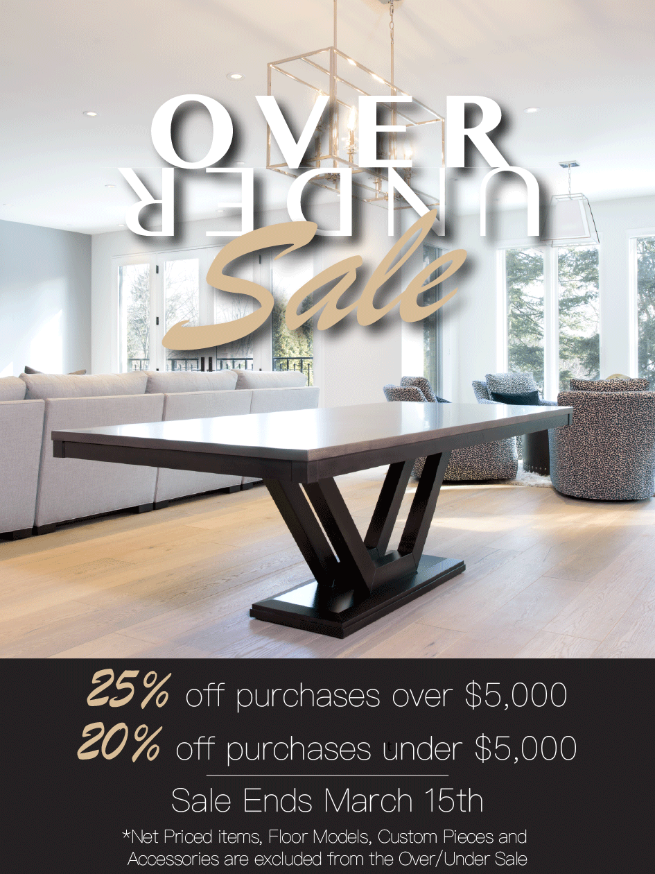 The Knox Table - Over/Under Sale