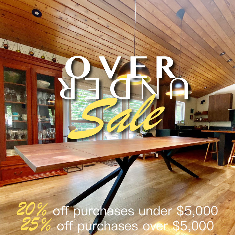 Over/Under Sale - Up to 25% Off