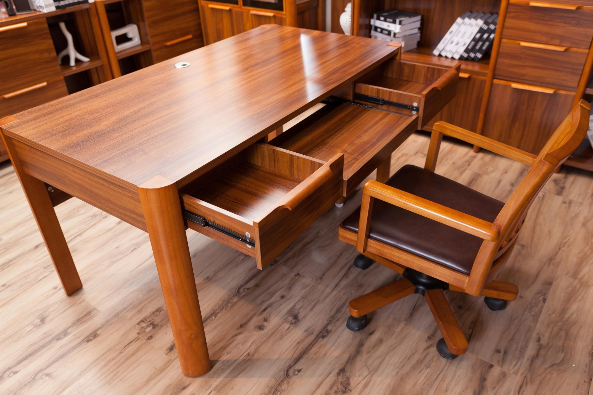 Get Down to Business with Solid Wood Furniture