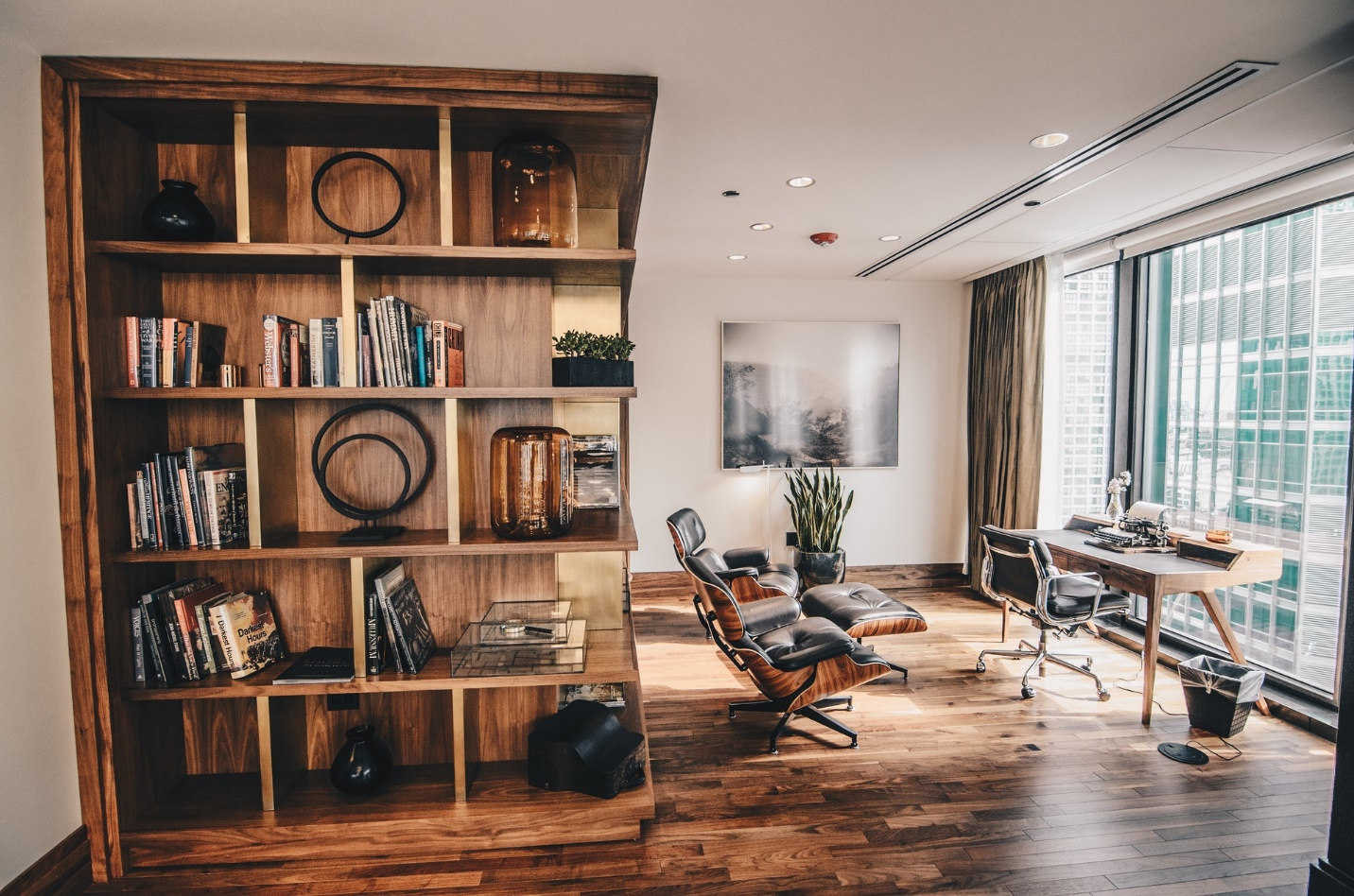 Work in Style from Home with Solid Wood Furniture