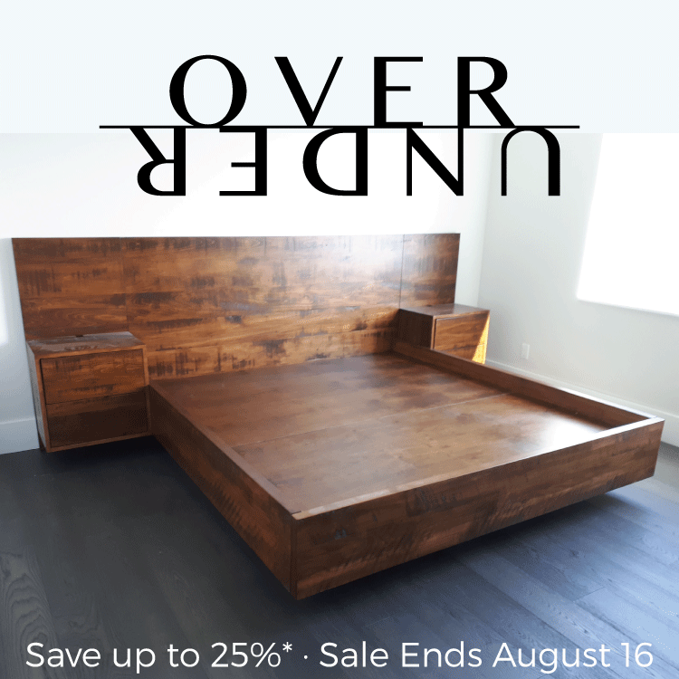 Over/Under Sale - Ends August 16